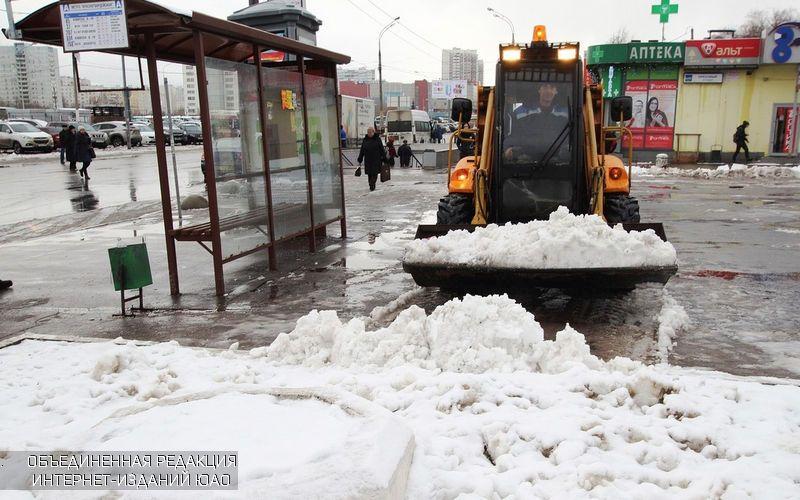 Практически годовая норма снега выпала задва месяца в столицеРФ