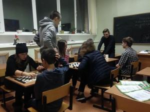 Турнир по шахматам в ЦД Личность