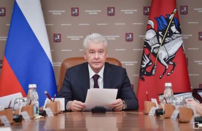 Мэр Москвы полностью поддерживает поручение Путина
