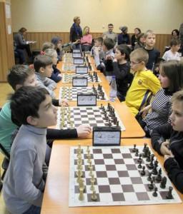 Открытый новогодний турнир по шахматам в ЦД Личность