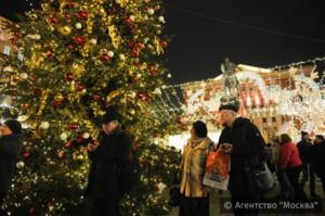 На новогодние каникулы в Москве усилены меры безопасности