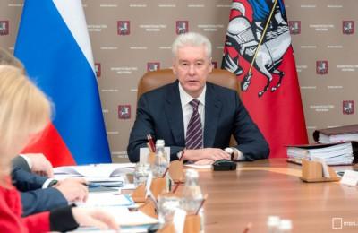 Мэр Москвы Сергей Собянин: Мы должны ускорить замену лифтов