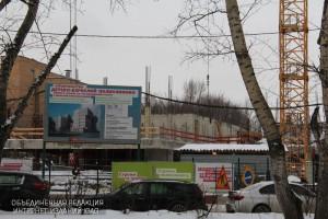 Строительство поликлиники в Нагатинском затоне