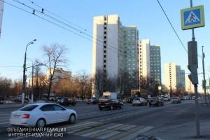 Одна из улиц в районе Царицыно