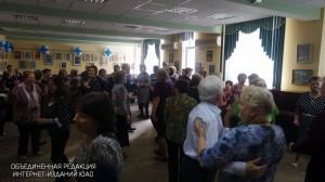 Ретро-дискотека для старшего поколения в районе Царицыно