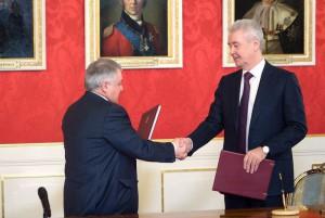 Собянин подписал Соглашение о развитии технопарка в Курчатовском институте