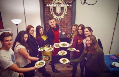 Мастер-класс по приготовлению блюд итальянской кухни от студента колледжа «Царицыно» Павла Овсянникова