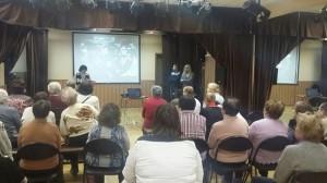 В центре досуга «Личность» состоялась культурно-историческая встреча «Моя Россия»
