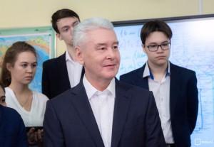 Мэр Москвы Сергей Собянин заявил, что в Москва входит в число мировых лидеров по уровню информатизации школ
