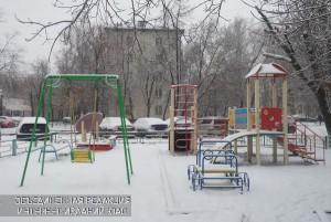 Детская площадка в районе Царицыно