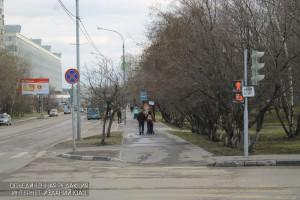 Светофор на Луганской улице