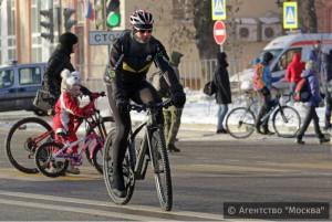 Жители округа смогут присоединиться к велоакции 10 февраля