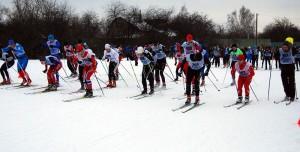 Окружной этап соревнований по лыжным гонкам