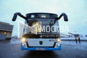 Первый электробус вышел на дороги Москвы