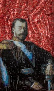 Портрет Николая II, выполненный греческим скульптором Никосом Флоросом