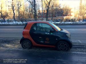 Автомобиль каршеринга в Москве