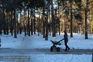 Парк в районе Царицыно