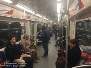 Пассажиры метрополитена Москвы