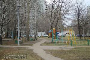 Двор на улице Бакинская