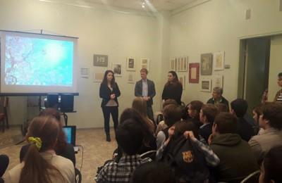 Ученики школы №1466 посетили показ документального фильма об оккупации Тульской области
