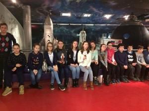 Ученики школы №868 посетили Мемориальный музей космонавтики
