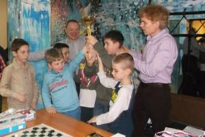 Команда шашистов района Царицыно