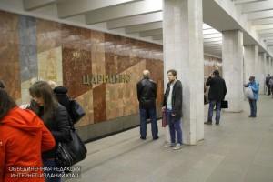 Вестибюль метро «Царицыно» закроют 26 марта