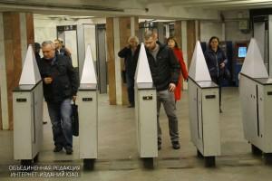 Новые турникеты установят на станции метро «Царицыно»