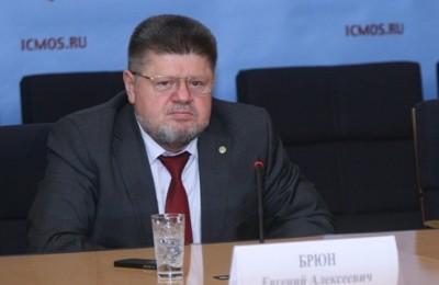 Главный внештатный специалист-нарколог Министерства здравоохранения Российской Федерации Евгений Брюн