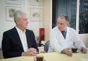 Мэр Москвы Сергей Собянин посетил городскую поликлинику № 175