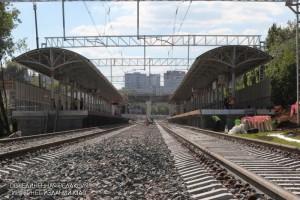 Железнодорожную платформу «Царицыно» реконструируют