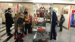 Ученики школы №870 посетили Центр профориентации Московского метрополитена