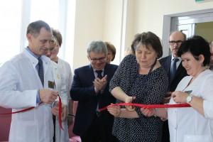 Отделение переливания крови открылось после капитального ремонта в городской клинической больнице имени Буянова