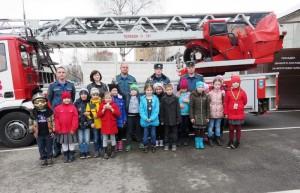 Школьники образовательного комплекса №868 посетили пожарную часть №43