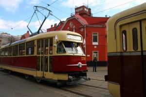 Парад трамваев в 2017 году в Москве