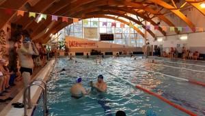 Жители района приняли участие в окружном этапе соревнований по плаванию для лиц с ОВЗ