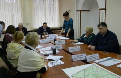 Совет депутатов обсудили вопрос масштабного ремонта улиц района