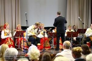 Выступление хора на концерте