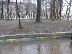 По просьбе местного жителя в районе Царицыно убрали дворовую территорию