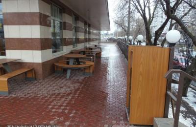 На Каспийской улице появится сезонное кафе