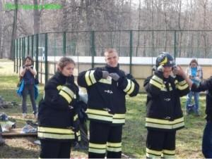 Школьники района научились тушить пожар и оказывать первую помощь