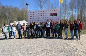 По «Дороге Победы» проехали студенты колледжа «Царицыно»