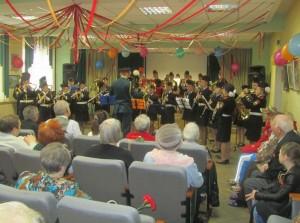Праздник «Весна Победы» провели в центре соцобслуживания «Царицынский»