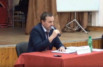 Глава управы Сергей Белов