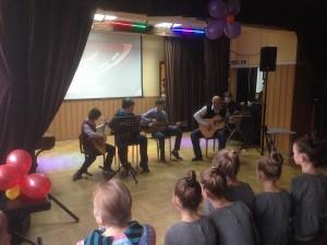Концерт «Мир, труд, май», посвященный празднованию 1 мая прошел в районе Царицыно