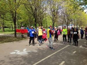 Жители Царицына на межокружной спартакиаде «Спорт для всех»