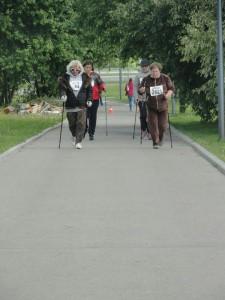 Спортсменка района заняла четвертое место в соревнованиях по скандинавской ходьбе