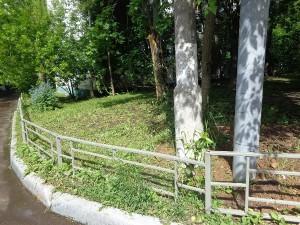 Городские службы убрали упавшее дерево на Кантемировской улице