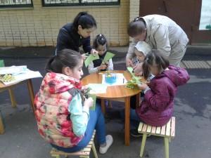 Игровую программу в честь березы провели в детской библиотеке №141