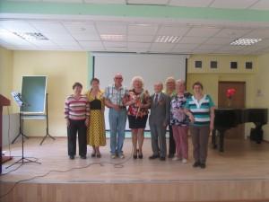Ольга Соколова с благодарными зрителями